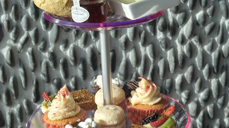 Afternoon tea at The Salthouse Harbour Hotel on The Ipswich Waterfront.