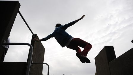 Police have issued a warning after Diss youths were spotted on town centre rooftops. Picture: Ian Bu
