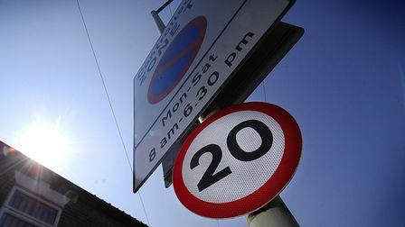 Speeds could be limited to 20mph in Eye. Picture: Antony Kelly