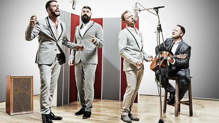 Boyzone play Newmarket Racecourse this Friday