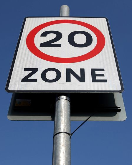 A 20mph zone could finally be introduced in Eye town centre. Picture: PA