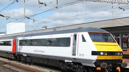 An Abellio Greater Anglia train at Colchester