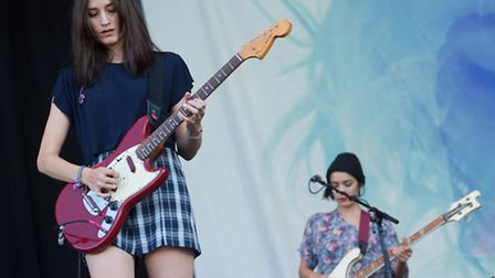 Warpaint on the Obelisk Stage at Latitude 2015 - Paul Bayfield