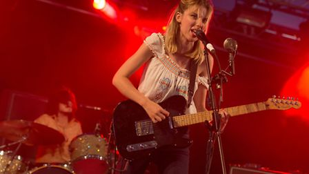 Wolf Alice had the 6music tent full to the brim at Latitude 2015