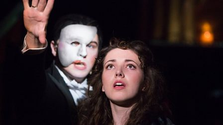 The Co-op Juniors Theatre Company stage The Phantom of the Opera Youth Production at Ipswich's New W