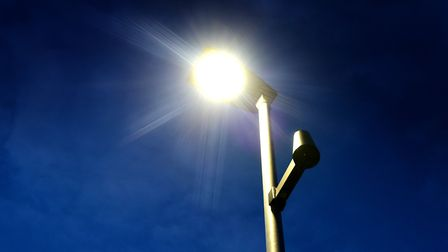 Diss Town Council has agreed to take on 227 street lights from South Norfolk Council. Picture: Anton