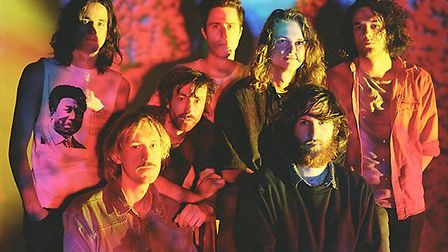 King Gizzard and The Lizard Wizard, playing Latitude Festival this year.