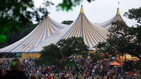 A view of the Latitude Festival site