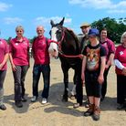 Simon Barnes, writer and horseman helps Riding for the Disabled at Sutton celebrate their 30th anniv