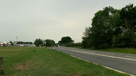 The accident happened on the A140 near Eye Airfield.