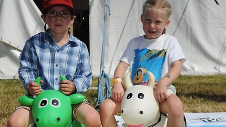 The 100 th Tendring Show Liam risdon and Jessie McMullan