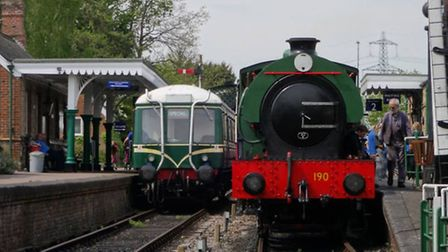An open day at the Colne Valley Railway, which was faced with having to move away from its home of 4