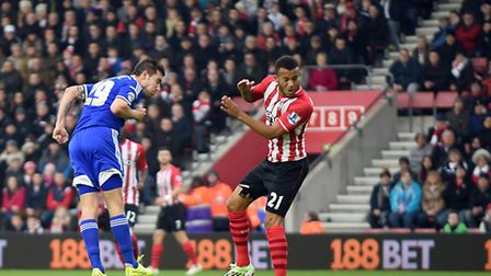 Darren Ambrose gives Ipswich the lead at Southampton