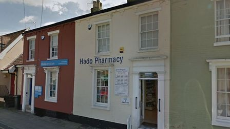 An elderly woman was taken to hospital after a collision on Mount Street in Diss. PHOTO: Google Maps