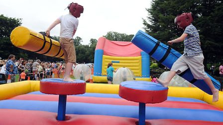 The Party in the Park event in Belle Vue Park in Sudbury last year