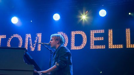 Tom Odell performs at Thetford High lodge in the last of the Forestry commission summer open air con
