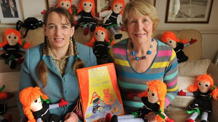 Liz Summers and Christine Janes (nee Truman) in 2011, when they brought out the first book of poem