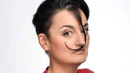 Stand-up comedian Zoe Lyons, playing Colchester Arts Centre tonight. Photo: Steve Ullathorne