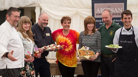 Food is playing a starring role at FolkEast this summer.