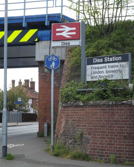 Almost £1m has been allocated to schemes to congestion including on Station Road in Diss. Picture: A