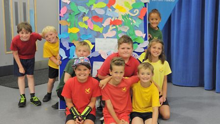 The schools involved sent teams to Felixstowe Academy for an end-of-project meeting