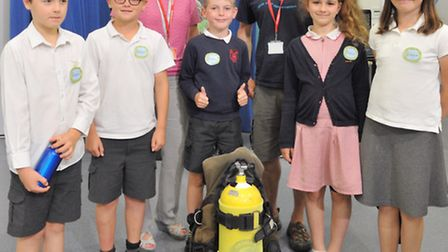 All the schools involved sent teams to Felixstowe Academy on Tusday July 7 for an end-of-project mee