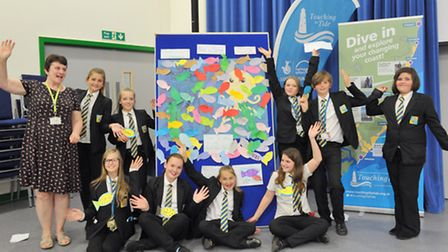 """Several Felixstowe schools have been working on the """"Coastal Champions"""" project with Suffolk Wildlif"""