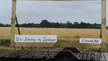 Action East Bergholt is campaigning against the proposed development of 144 homes in East Bergholt.