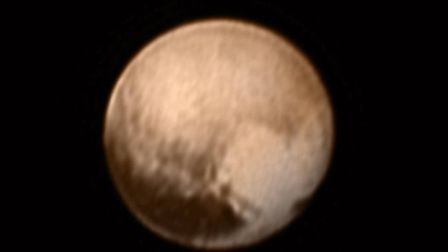 This new image of Pluto, on July 8, 2015, was taken by LORRI NASA image