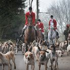 Last year's Boxing Day hunt in Hadleigh.