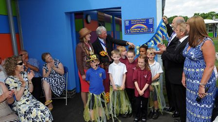 Montgomery Infant School and Nursery / Montgomery Junior School in Colchester officially opens its n