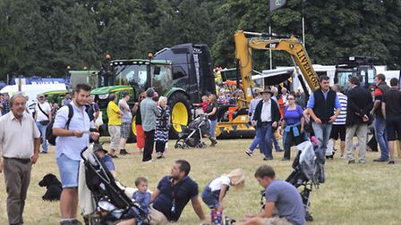 Crowds enjoy last year's Tendring Hundred Show.