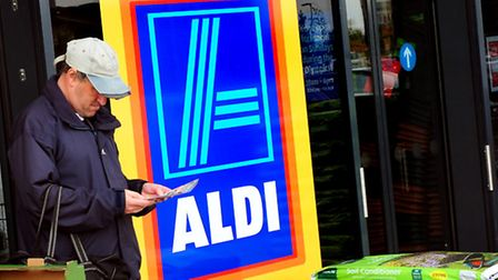 Aldi looking to recruit apprentices in Suffolk. Picture: PA Wire