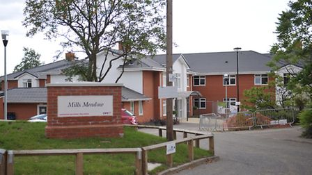 Mills Meadow Care Home on Fore Street in Framlingham.