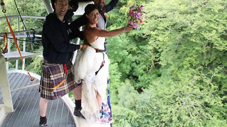 Ross and Hannah set to take the plunge
