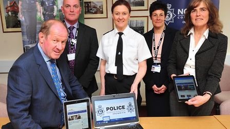 The Cyber Crime Unit - a partnership between Norfolk and Suffolk police