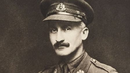Lieutenant-Colonel WM Armes - 'a thorough gentleman and a good officer'. Photo: Friends of the Suffo