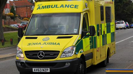 East of England Ambulance Trust attended the scene.