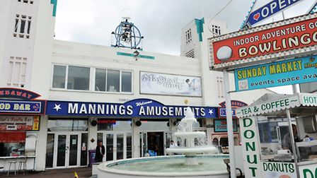 Mannings in Felixstowe is a good option on a rainy day.