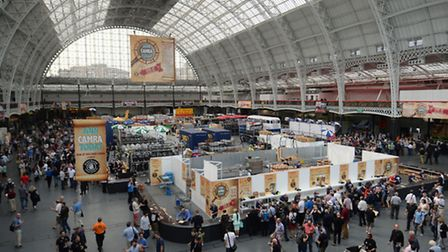 The annual Great British Beer Festival organised by the Campaign for Real Ale (CAMRA) at Olympia in