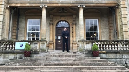 Peter Agate, the new principal of Riddlesworth Hall School, where Lady Diana was educated. Picture: