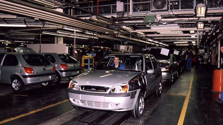 Car production is down, a trade body has claimed.