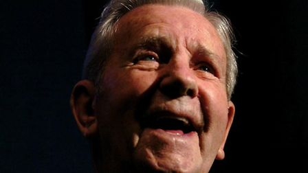 Sir Norman Wisdom is being celebrated at the Theatre Royal in Norwich