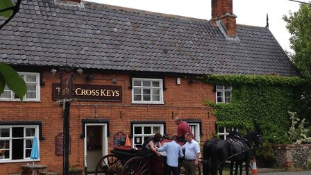 The Cross Keys Pub in Redgrave. Picture: Fiona Kenworthy