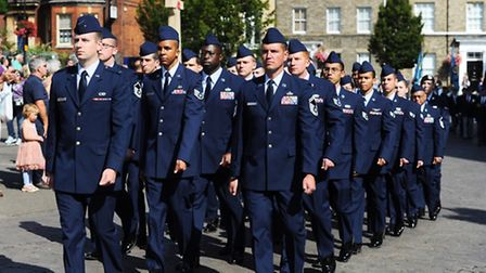 Parade and service to mark VJ Day in Bury St Edmunds.