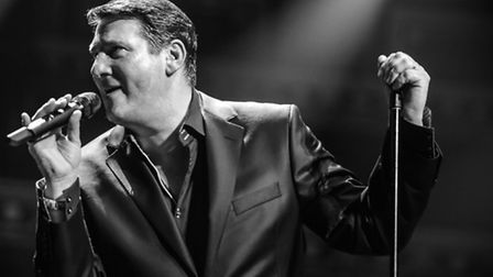 Tony Hadley impressed the crowds at Newmarket Nights on Friday
