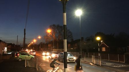 Safety fears had been raised that the new pedestrian crossing on Victoria Road in Diss was too dark.