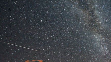 Every year in mid-August the Perseid meteor shower has its peak. ESO photo ambassador St�phane Guisa