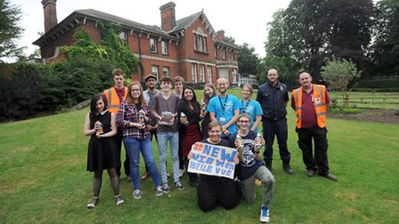 Young people have devised a project to improve Belle Vue Park in Sudbury.