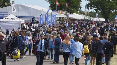 The Suffolk Show if full flow this year.